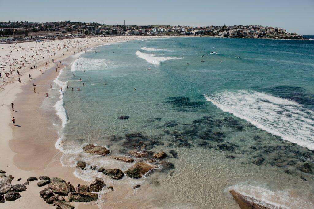 Clear water of an Australian beach