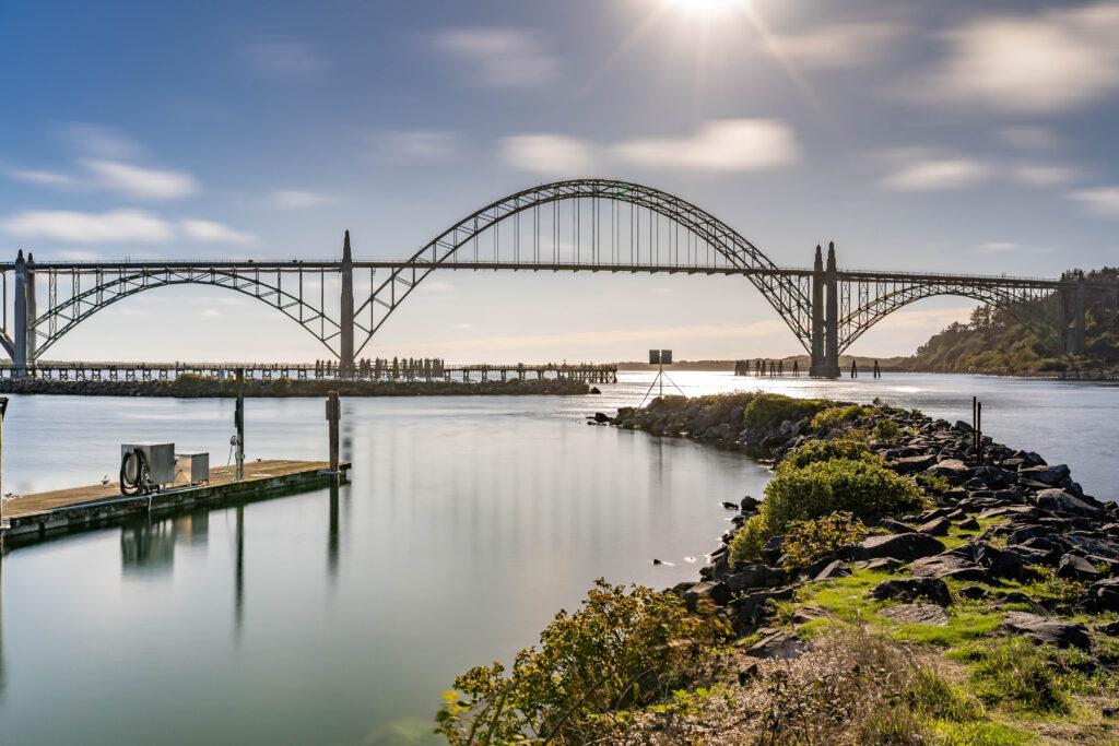 Beach towns on the Oregon Coast